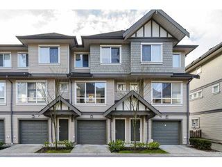 "Photo 1: 70 9088 HALSTON Court in Burnaby: Government Road Townhouse for sale in ""TERRAMOR"" (Burnaby North)  : MLS®# V1046737"