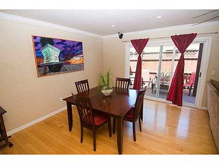 Photo 10: PACIFIC BEACH Townhome for sale : 3 bedrooms : 856 Diamond Street in San Diego