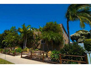 Photo 1: PACIFIC BEACH Townhome for sale : 3 bedrooms : 856 Diamond Street in San Diego