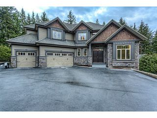 Photo 1: 2182 SUMMERWOOD Lane: Anmore House for sale (Port Moody)  : MLS®# V1106744