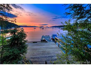 Photo 1: 740 Sea Dr in BRENTWOOD BAY: CS Brentwood Bay House for sale (Central Saanich)  : MLS®# 698950