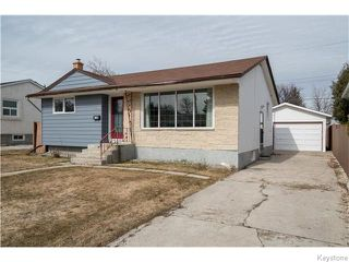 Photo 1: 295 Cheriton Avenue in Winnipeg: North Kildonan Residential for sale (North East Winnipeg)  : MLS®# 1607580