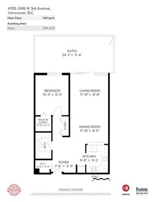 Photo 20: 105 2416 W 3RD Avenue in Vancouver: Kitsilano Condo for sale (Vancouver West)  : MLS®# R2239626