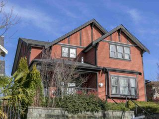 Photo 1: 2025 E 10TH AVENUE in Vancouver: Grandview VE House 1/2 Duplex for sale (Vancouver East)  : MLS®# R2247203