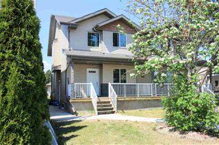 Main Photo: 9032 150 Street in Edmonton: Zone 22 House Half Duplex for sale : MLS®# E4112779