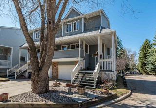 Main Photo: 531 WOODBRIDGE Way: Sherwood Park Townhouse for sale : MLS®# E4153491