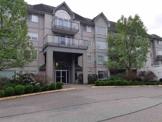 "Photo 1: 112 33668 KING Road in Abbotsford: Poplar Condo for sale in ""College Park"" : MLS®# R2376238"