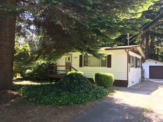 Main Photo: 1587 MISSION Road in Sechelt: Sechelt District Manufactured Home for sale (Sunshine Coast)  : MLS®# R2382382