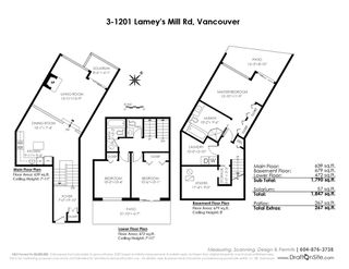 """Photo 18: 3 1201 LAMEY'S MILL Road in Vancouver: False Creek Townhouse for sale in """"Alder Bay Place"""" (Vancouver West)  : MLS®# R2401144"""