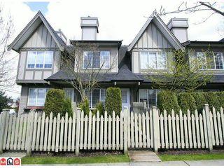 Photo 1: 65 8775 161 Street in Surrey: Fleetwood Tynehead Townhouse for sale : MLS®# F1111147