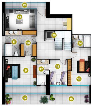 Photo 8: : El Palmar Residential Condo for sale (San Carlos)  : MLS®# BEACHFRONT PENTHOUSE