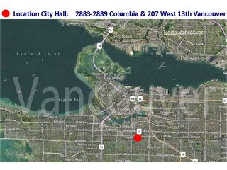 Photo 20: 2889 COLUMBIA Street in Vancouver: Mount Pleasant VW House Triplex for sale (Vancouver West)  : MLS®# V1029693