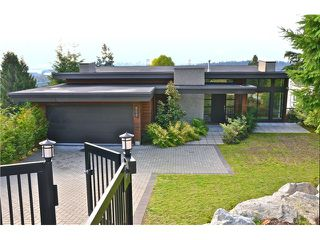 Photo 1: 856 ANDERSON Crescent in West Vancouver: Sentinel Hill House for sale : MLS®# V1030765