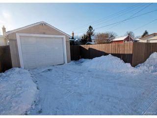 Photo 17: 741 Prince Rupert Avenue in WINNIPEG: East Kildonan Residential for sale (North East Winnipeg)  : MLS®# 1500262