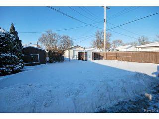 Photo 16: 741 Prince Rupert Avenue in WINNIPEG: East Kildonan Residential for sale (North East Winnipeg)  : MLS®# 1500262