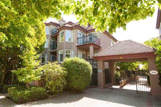 "Photo 1: 209 580 TWELFTH Street in New Westminster: Uptown NW Condo for sale in ""THE REGENCY"" : MLS®# R2199088"