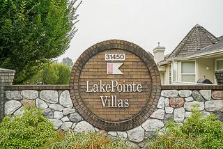 """Photo 1: 20 31450 SPUR Avenue in Abbotsford: Abbotsford West Townhouse for sale in """"Lake Point Villas"""" : MLS®# R2203347"""
