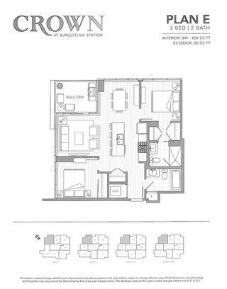 "Photo 12: 1705 520 COMO LAKE Avenue in Coquitlam: Coquitlam West Condo for sale in ""CROWN"" : MLS®# R2214990"