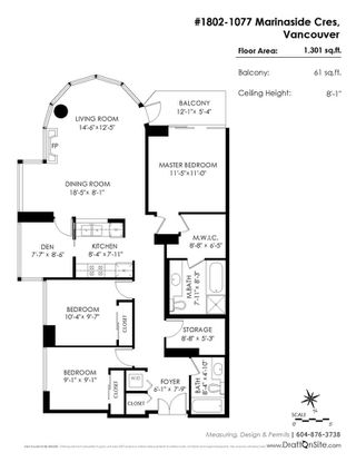 """Photo 20: 1802 1077 MARINASIDE Crescent in Vancouver: Yaletown Condo for sale in """"MARINASIDE RESORT"""" (Vancouver West)  : MLS®# R2238835"""