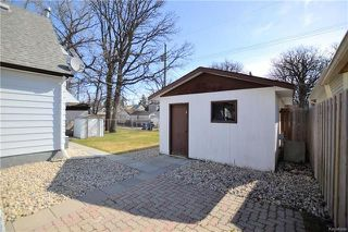 Photo 19: 347 Duffield Street in Winnipeg: Deer Lodge Residential for sale (5E)  : MLS®# 1810583
