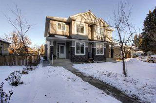 Main Photo: 9608 71 Avenue in Edmonton: Zone 17 House Half Duplex for sale : MLS®# E4225671
