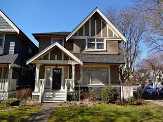 Photo 1: 3007 CROWN Street in Vancouver: Point Grey House for sale (Vancouver West)  : MLS®# V1051897