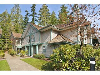 """Photo 1: 5 65 FOXWOOD Drive in Port Moody: Heritage Mountain Townhouse for sale in """"FOREST HILLS"""" : MLS®# V1054464"""