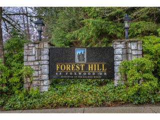 """Photo 15: 5 65 FOXWOOD Drive in Port Moody: Heritage Mountain Townhouse for sale in """"FOREST HILLS"""" : MLS®# V1054464"""