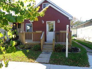 Photo 1: 310 REGENT Avenue East in WINNIPEG: Transcona Residential for sale (North East Winnipeg)  : MLS®# 1424472