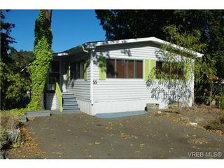 Photo 1: 55 2780 Spencer Rd in VICTORIA: La Langford Lake Manufactured Home for sale (Langford)  : MLS®# 685530
