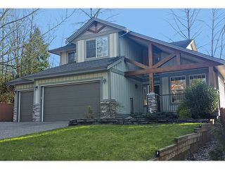"Photo 1: 24632 106TH Avenue in Maple Ridge: Albion House for sale in ""THE UPLANDS"" : MLS®# V1105314"