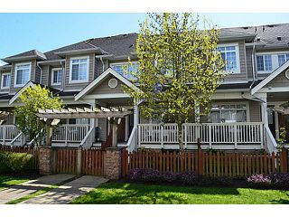 "Photo 1: 12 6852 193RD Street in Surrey: Clayton Townhouse for sale in ""INDIGO"" (Cloverdale)  : MLS®# F1436586"
