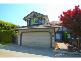 "Photo 1: 139 1685 PINETREE Way in Coquitlam: Westwood Plateau Townhouse for sale in ""THE WILTSHIRE"" : MLS®# V1121776"