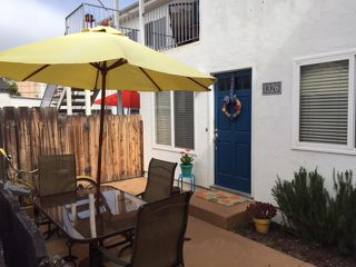 Photo 1: PACIFIC BEACH Condo for sale : 1 bedrooms : 1326 Pacific Beach Drive in San Diego