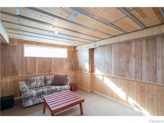 Photo 13: 393 Rougeau Avenue in WINNIPEG: Transcona Residential for sale (North East Winnipeg)  : MLS®# 1528891