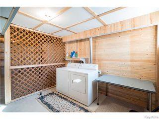 Photo 16: 393 Rougeau Avenue in WINNIPEG: Transcona Residential for sale (North East Winnipeg)  : MLS®# 1528891