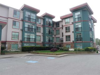 """Photo 1: 407 33485 S FRASER Way in Abbotsford: Central Abbotsford Condo for sale in """"Citadel Ridge"""" : MLS®# R2167578"""