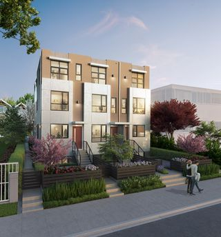 """Main Photo: 2433 W BROADWAY Street in Vancouver: Kitsilano Townhouse for sale in """"ZEO KITS"""" (Vancouver West)  : MLS®# R2196662"""