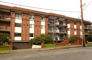 "Photo 1: 108 625 HAMILTON Street in New Westminster: Uptown NW Condo for sale in ""CASA DEL SOL"" : MLS®# R2247881"