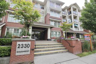 "Photo 1: 106 2330 SHAUGHNESSY Street in Port Coquitlam: Central Pt Coquitlam Condo for sale in ""AVANTI ON SHAUGHNESSY"" : MLS®# R2275795"
