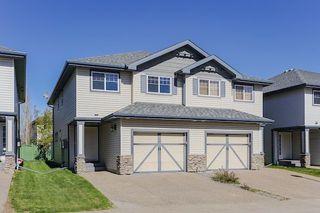Photo 1: 55 2565 HANNA Crescent in Edmonton: Zone 14 House Half Duplex for sale : MLS®# E4155045