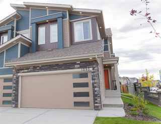 Main Photo: 1293 DANIELS Crescent SW in Edmonton: Zone 55 House Half Duplex for sale : MLS®# E4172296