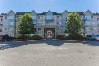 "Photo 1: 110 33668 KING Road in Abbotsford: Poplar Condo for sale in ""College Park"" : MLS®# R2451176"