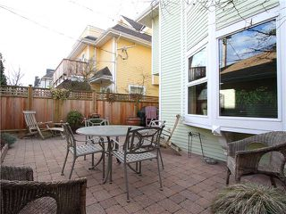 Photo 11: 1839 CREELMAN Avenue in Vancouver: Kitsilano House 1/2 Duplex for sale (Vancouver West)  : MLS®# V1047236