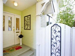Photo 2: 1839 CREELMAN Avenue in Vancouver: Kitsilano House 1/2 Duplex for sale (Vancouver West)  : MLS®# V1047236