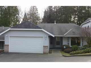 """Photo 1: 13 33020 MACLURE Road in Abbotsford: Central Abbotsford Townhouse for sale in """"WILLBAND CREEK ESTATES"""" : MLS®# F1404024"""