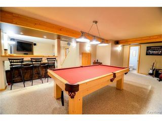 Photo 14: 73 Branson Crescent in WINNIPEG: Fort Garry / Whyte Ridge / St Norbert Residential for sale (South Winnipeg)  : MLS®# 1501009