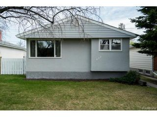 Photo 1: 627 Melrose Avenue West in WINNIPEG: Transcona Residential for sale (North East Winnipeg)  : MLS®# 1511875