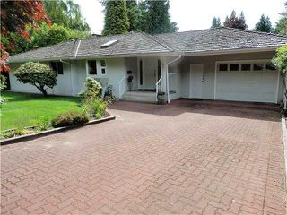 Photo 1: 384 STEVENS Drive in West Vancouver: British Properties House for sale : MLS®# V1122946