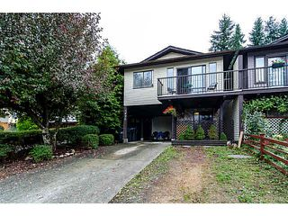 """Photo 1: 1436 PITT RIVER Road in Port Coquitlam: Mary Hill 1/2 Duplex for sale in """"MARY HILL"""" : MLS®# V1130423"""